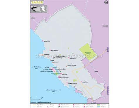 buy zadar map