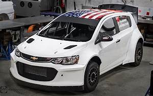 Insane Chevrolet Sonic Rally Car Is Packing A 6 2L LS3 V8