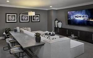 Turn the upstairs bonus room into your own private media ...