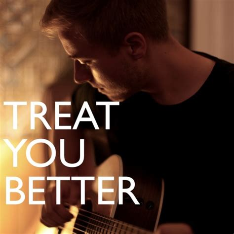 Treat You Better  Shawn Mendes (acoustic Cover) By