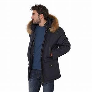 Parka Homme Bleu Marine : veste parka oakwood aspen bleu pour homme ~ Melissatoandfro.com Idées de Décoration
