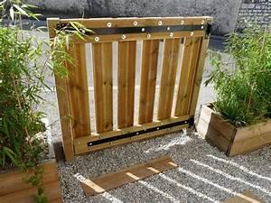fabriquer un portillon en bois portillon pinterest With fabriquer un portail de jardin en bois