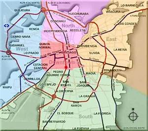 Maps Of Santiago