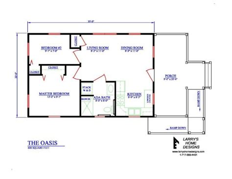 oasis  sq ft wheelchair friendly home plans