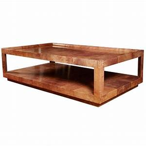 197039s huge cocktail table by aldo tura at 1stdibs With massive coffee table