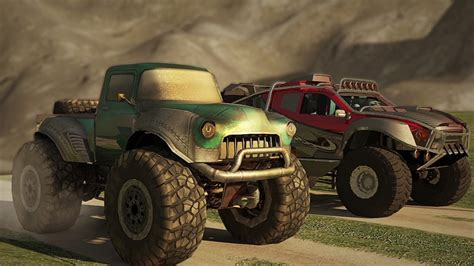 play monster truck racing games monster trucks racing mobile game trailer android for free