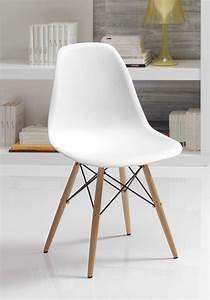 Lot 4 Chaises Scandinaves : chaise style scandinave lozano sofamobili ~ Teatrodelosmanantiales.com Idées de Décoration