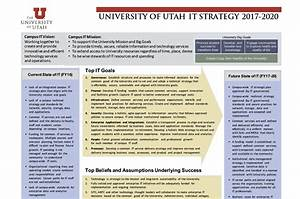two strategic it plans one mission university With university strategic plan template