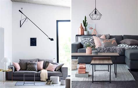 deco canapé décoration salon et gris