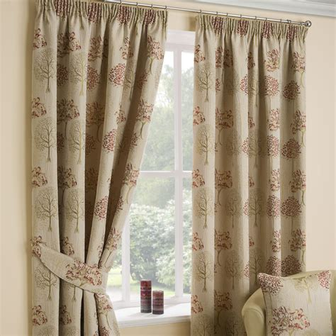 arden chintz pencil pleat luxury ready made curtains