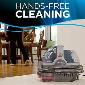 Bissell U00ae Spot Bot U00ae Pet Portable Carpet Cleaner 33n8