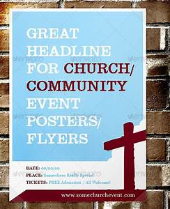 14 blank church flyer template design images blank flyer With free flyer templates for church events
