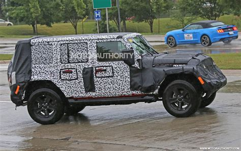 jeep unlimited 2018 2018 jeep wrangler unlimited spy shots