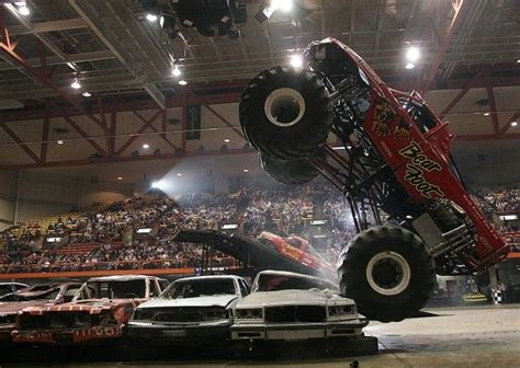 monster truck show tonight a 39 monster 39 of a truck show comes to civic center on