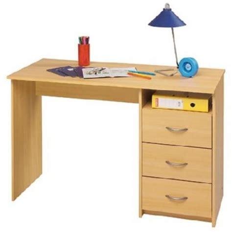 bureau hetre bureau 1 caisson 3 tiroirs hêtre lestendances fr