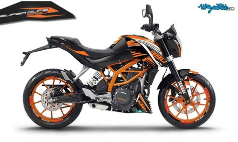 ktm superduke racing graphics inspired 2017 390 wrap and ride