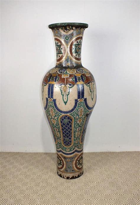 floor standing vases a moroccan floor standing vase