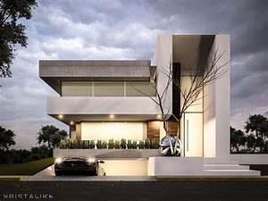 Bosque Alto House #architecture #modern #facade # ...