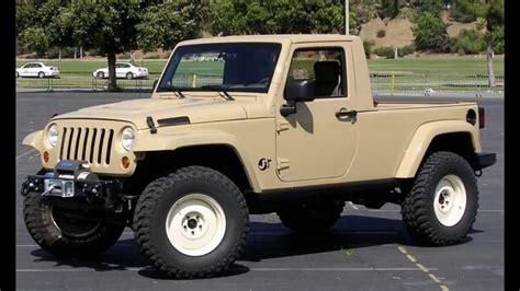 jeep wrangler pickup  youtube