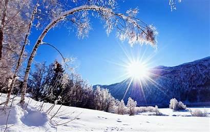 Winter Scenes Sun Wallpapers Background Pixelstalk Sunset