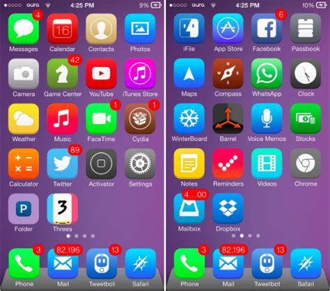 ios 8 iphone 4 the 12 best ios 7 themes for iphone