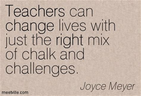 Quotes About Teachers Changing Lives Quotesgram