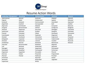 Words For Resume by Product Management Resume Words And Keywords List