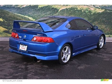 2006 Acura Rsx Coupe by 2006 Blue Pearl Acura Rsx Type S Sports Coupe