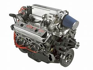 Gm 12499120 Engine Assembly Crate Engine Chevy Ram Jet 350