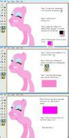 windows 7 ms paint tutorial changing outline by selenaede