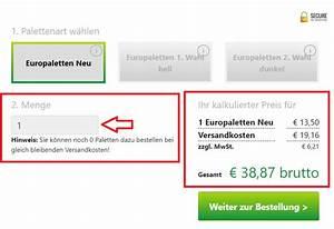 Europaletten Verkaufen Preis : preisrechner europaletten kaufen ~ Frokenaadalensverden.com Haus und Dekorationen