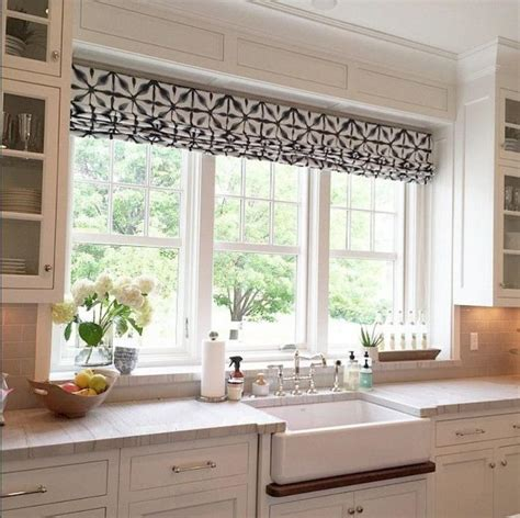 kitchen sink window ideas 30 kitchen window treatment ideas for decoration