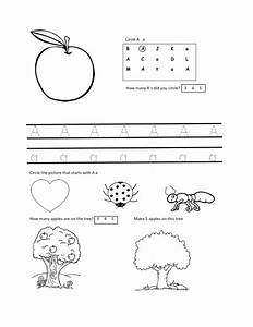 worksheets for 2 year olds free letter a worksheet With learning letters for 3 year olds