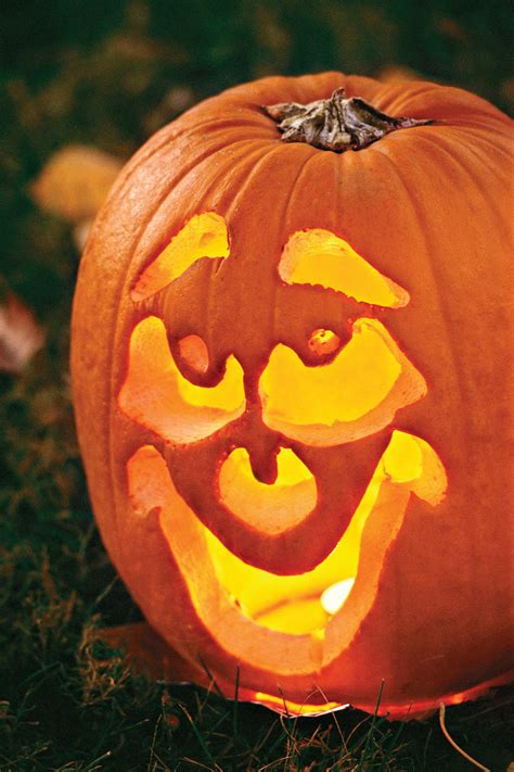 pumpkin faces for 33 halloween pumpkin carving ideas southern living
