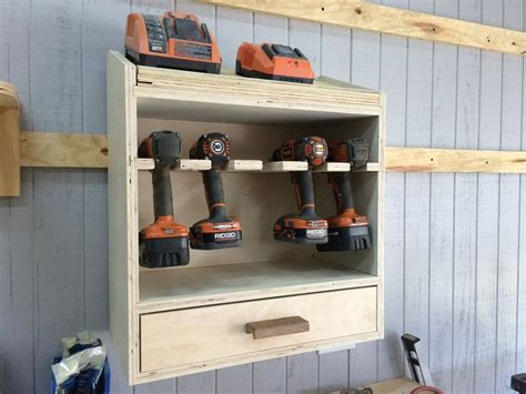 cordless drill charging station  scarpenter