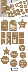 Geschenkanhänger Weihnachten Drucken : geschenkanh nger weihnachten im kraftpapier look miomodo blog ~ Eleganceandgraceweddings.com Haus und Dekorationen