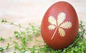 Eier Färben Mit Naturmaterialien : bild 3 ostereier marmorieren sch ne pflanzenmotive auf die eier f rben ~ Frokenaadalensverden.com Haus und Dekorationen