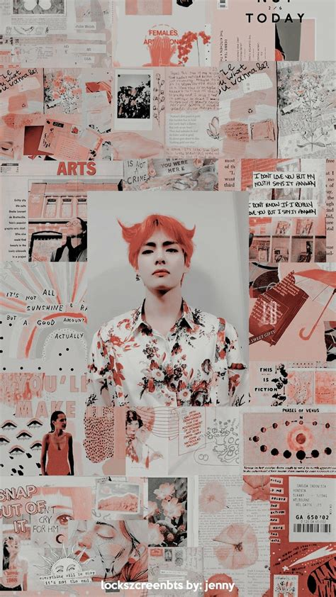 taehyung aesthetic wallpaper credits to
