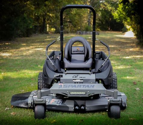 Cutting Deck For Ride On Mower by Spartan Srt Pro 61 Quot Zero Turn Mower 27 Hp Briggs Engine