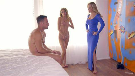 Attentive Stepmother Eager To Work Rigid Porn