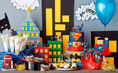 How To Build A Super Hero Birthday Party  Articles  Family Legocom