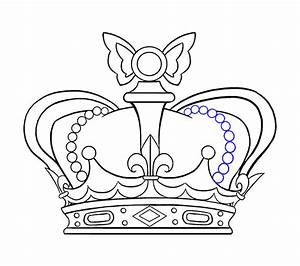 How To Draw A Crown In A Few Easy Steps