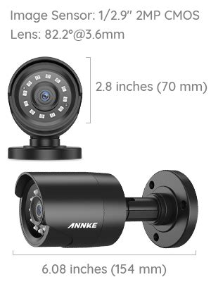 Amazon.com : ANNKE Security Camera System 1080P Lite H.264