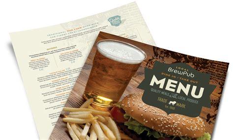 restaurant menu templates menu layouts food menus