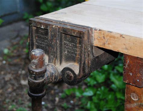 christiansen work bench restoration