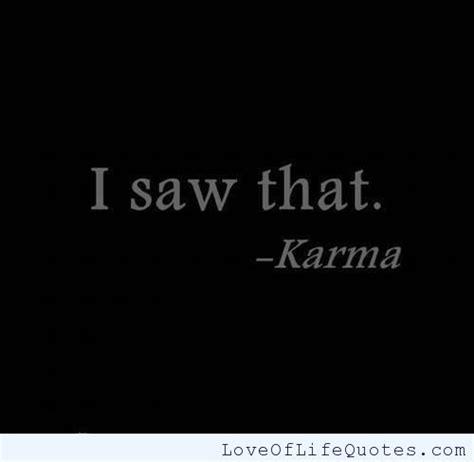 karma quotes bad bitchy bitch around goes selfish funny yoga quotesgram