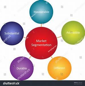 Market Segmentation Business Diagram Management Strategy Stock Illustration 75481645