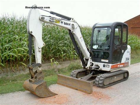 bobcat    minikompact digger construction equipment photo  specs