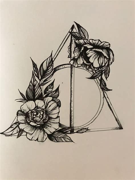 harry potter deathly hallows inked tatuajes de harry