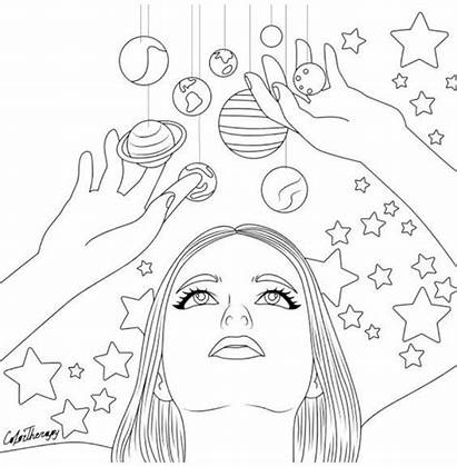 Coloring Pages Adult Therapy Colouring Adults Sheets